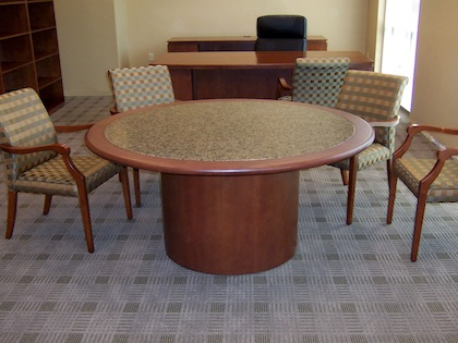 Round And Oval Conference Room, 72 Inch Round Conference Table